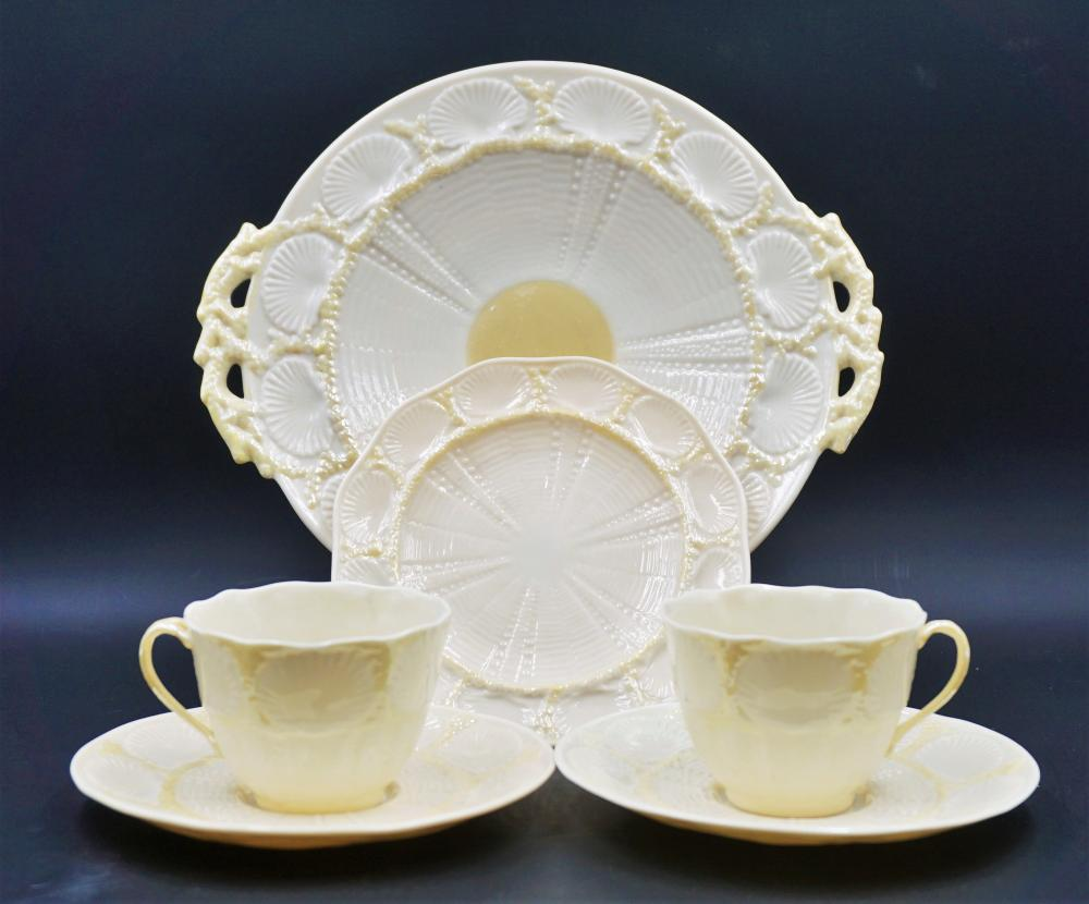 Belleek Shell porcelain