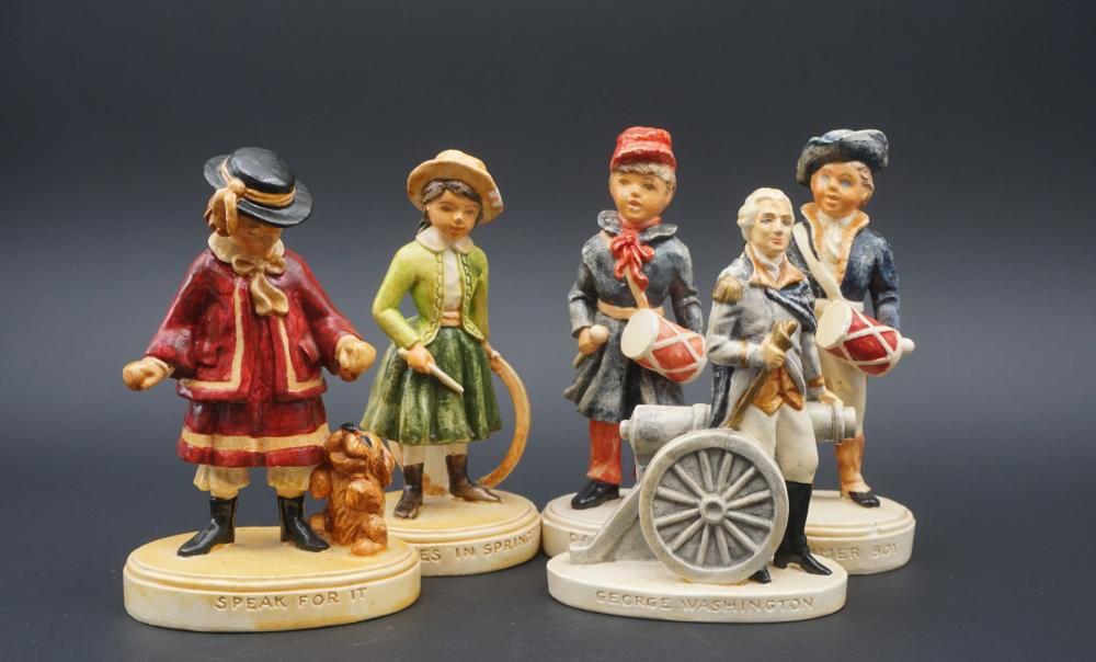 Sebastian miniature figurines