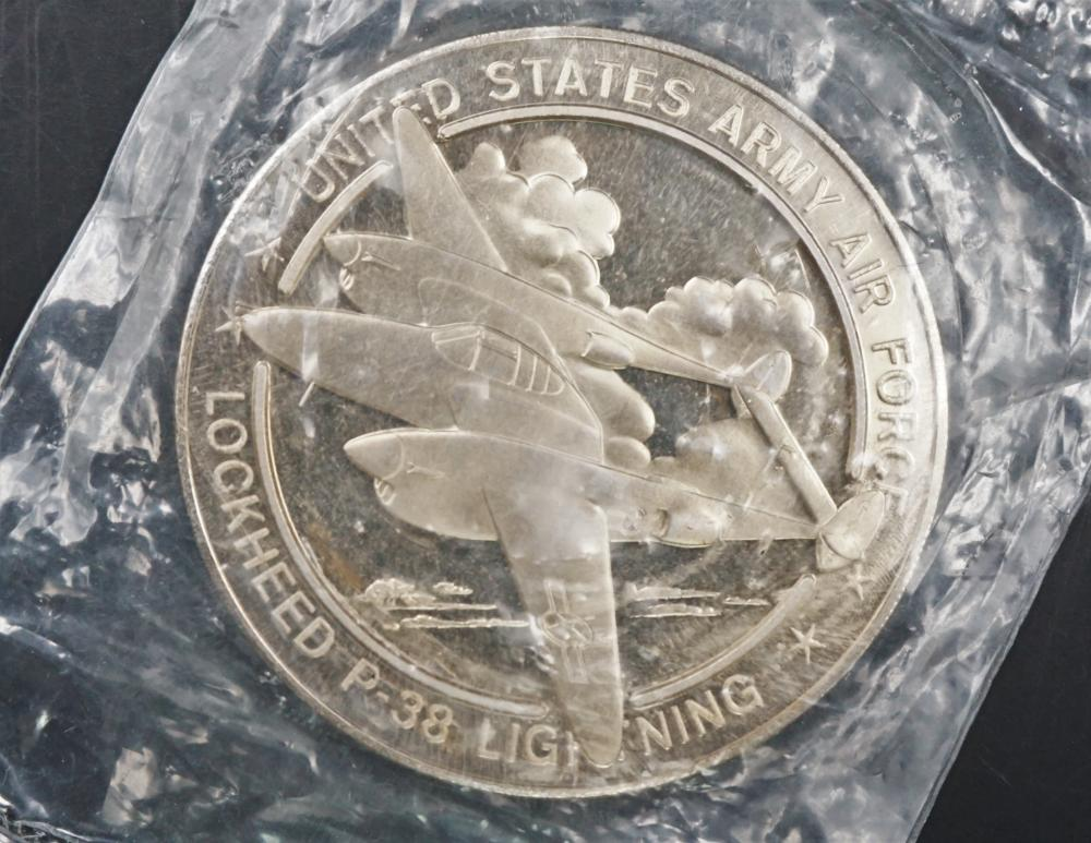 P-38 Franklin Mint commemorative coin