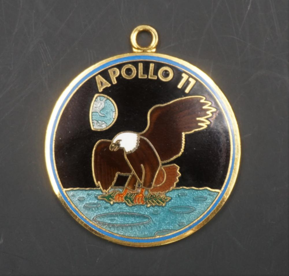 Apollo 11 pendant