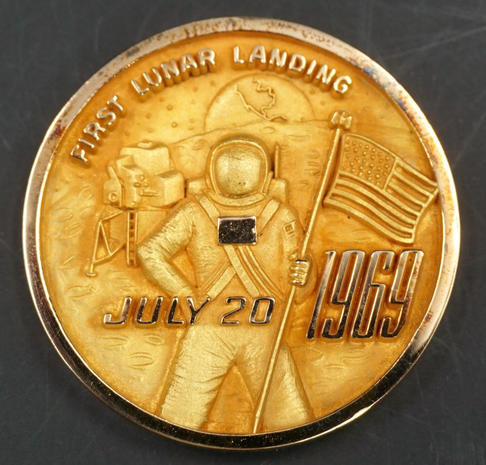 Apollo 11 10k gold coin