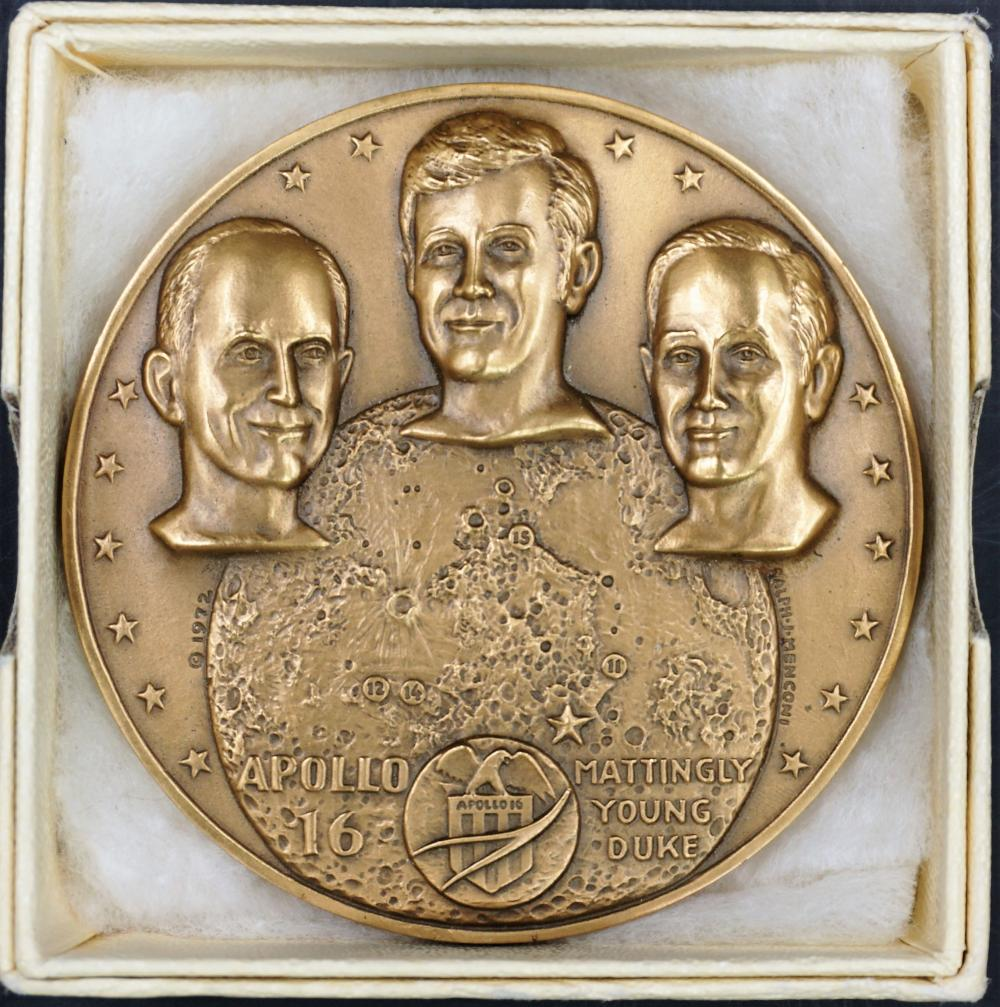 Apollo 16 bronze medal