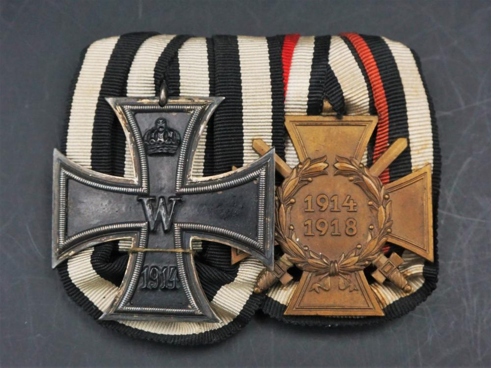 WW1 German medal bar