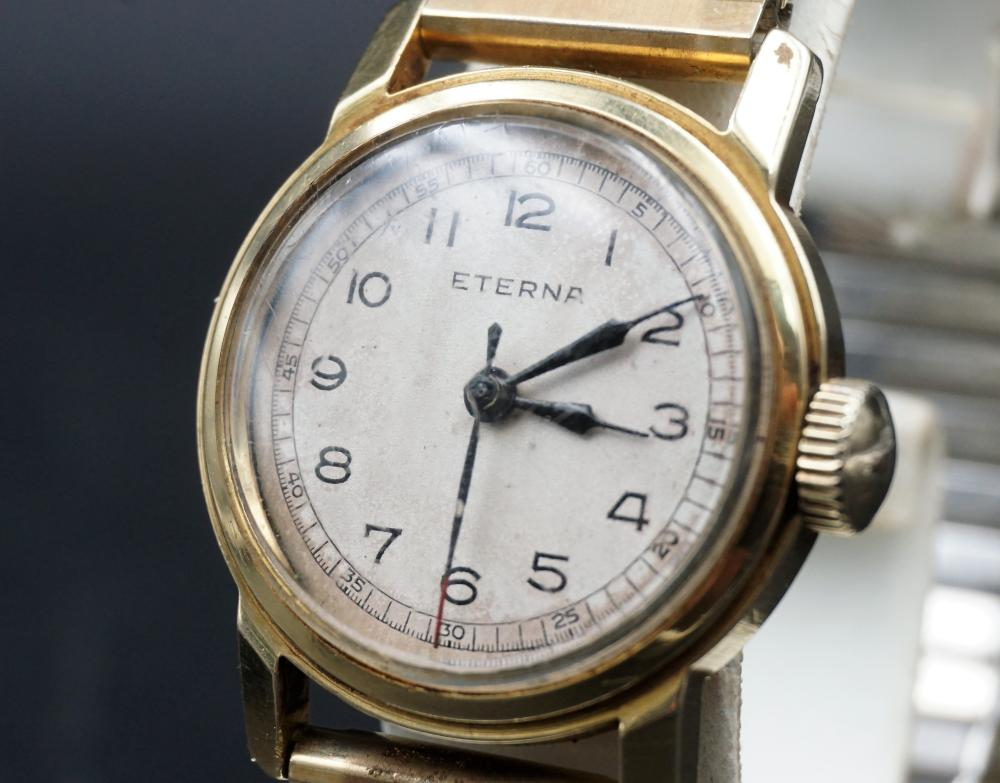 14k gold Eterna men's watch
