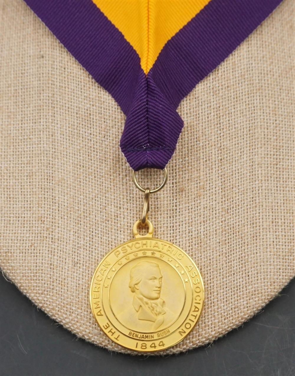 Psychiatry medal - 50 years of service