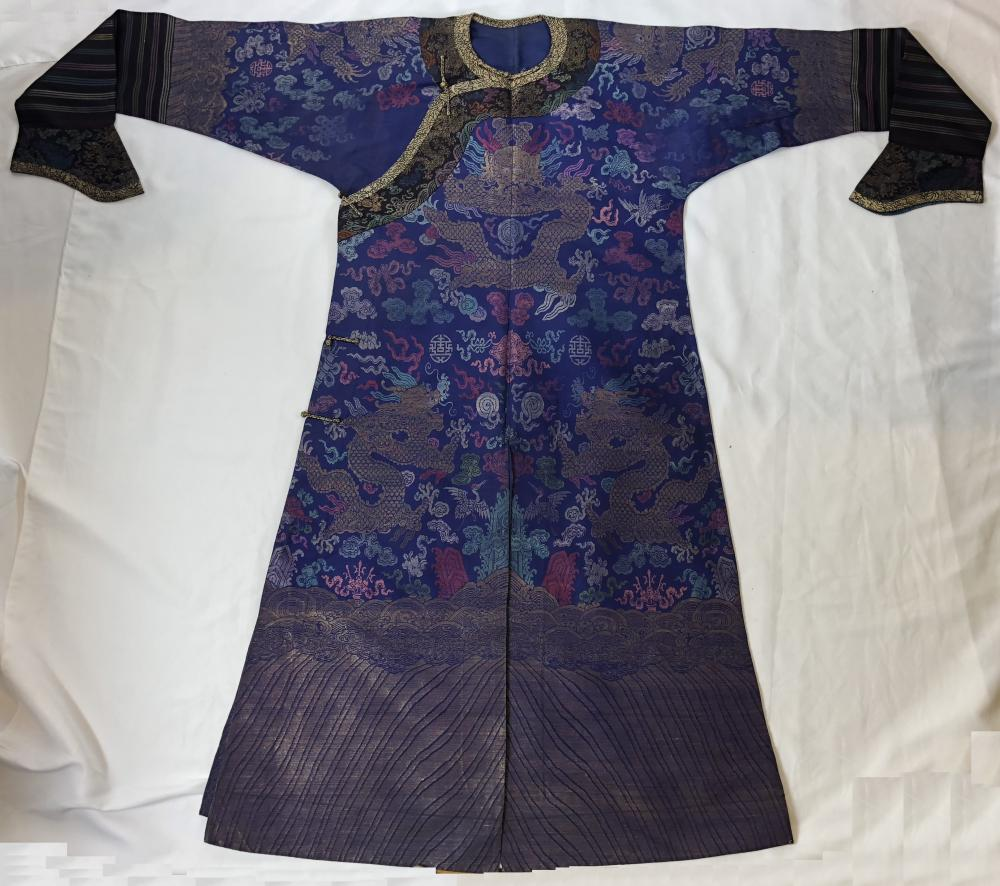 88346b3f61687 CHINESE KESI IMPERIAL DRAGON ROBE