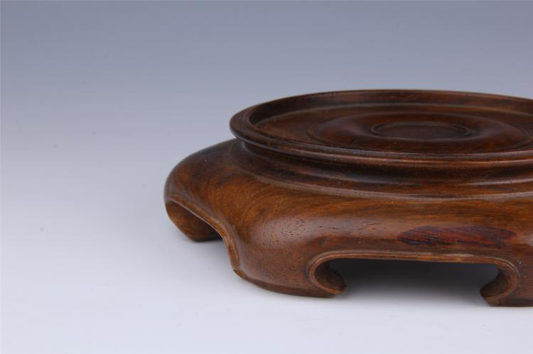 Chinese huangli round base for Chinese furniture newcastle