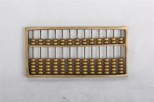 CHINESE BRONZE ABACUS
