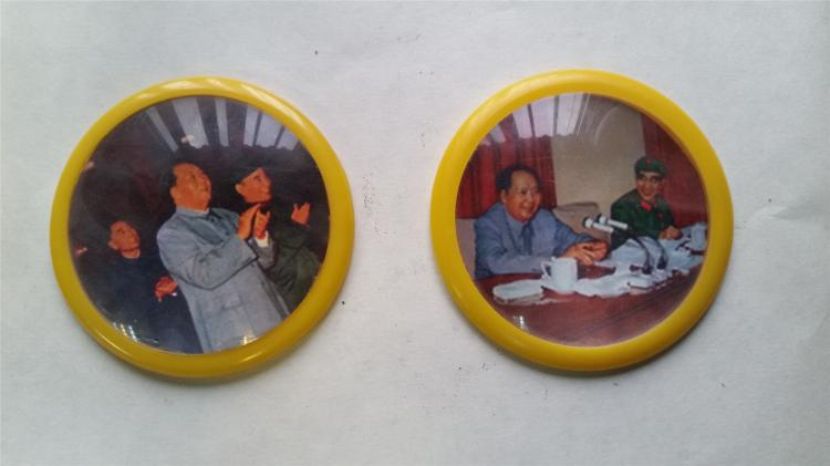 CHAIRMAN MAO BADGES