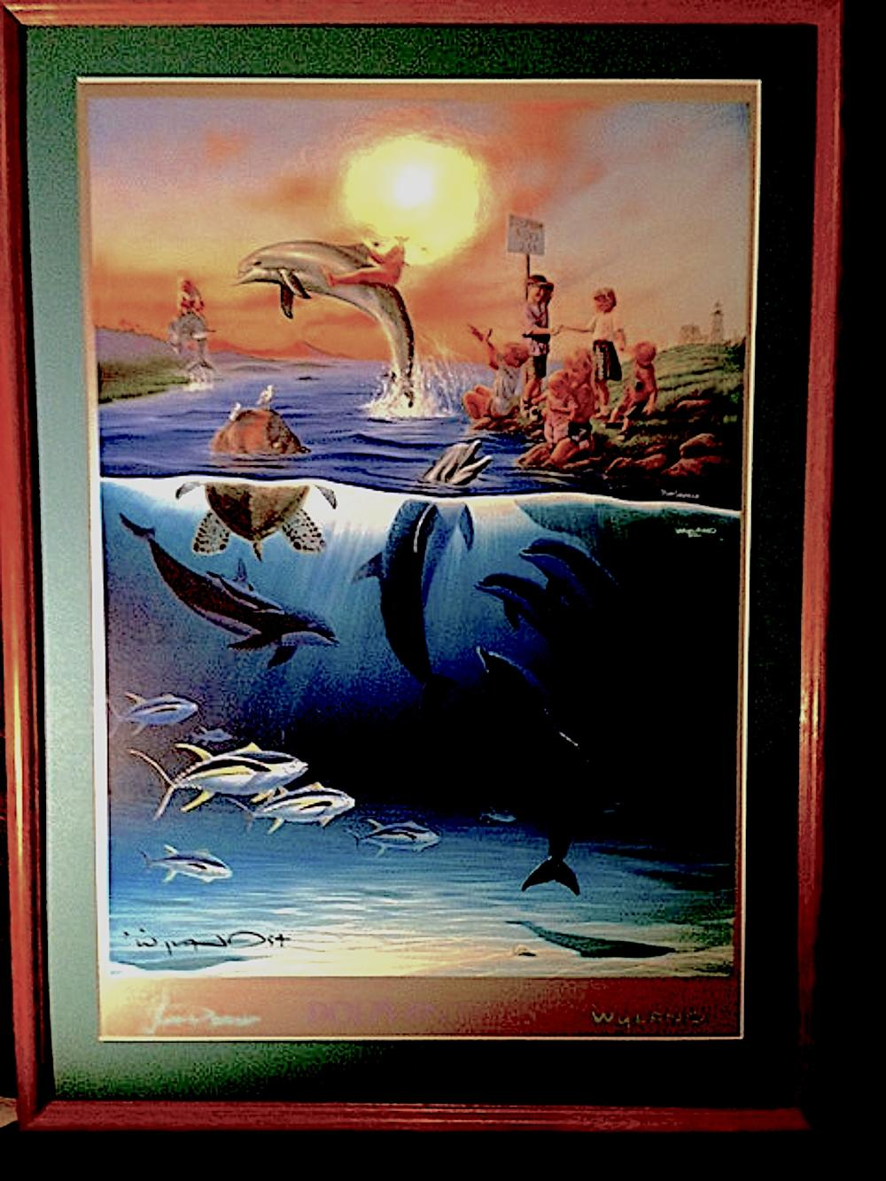 Sold Price Dolphin Rides By Robert Wyland January 6 0119 10 00 Am Pst