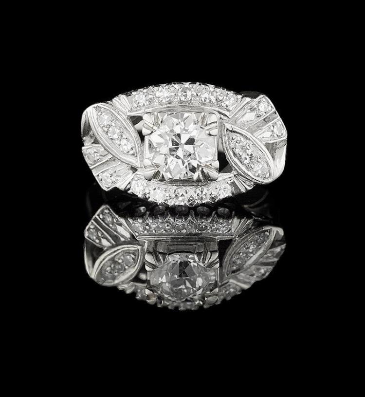 Custommade Diamond: Custom-Made Diamond Ring