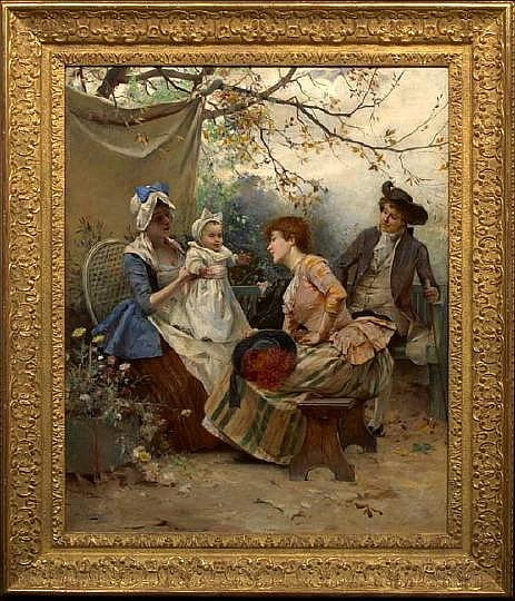 Emile Auguste Pinchart (French, 1842-1924)