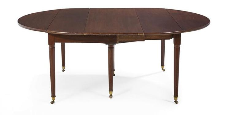 Louis XVI Style Mahogany Dining Table : H0122 L118017590 from www.invaluable.co.uk size 750 x 377 jpeg 16kB