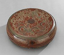 Chinese Painted Dragon Box