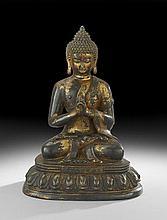 Chinese Gilt-Bronze Buddha