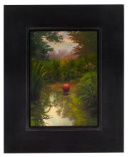 Ball at Sunset by Scott Prior Signed Limited Edition Art Print Poster