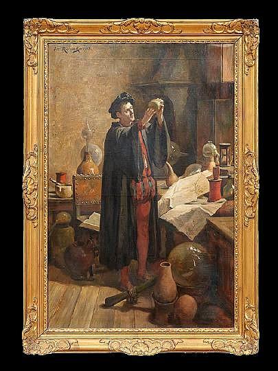 Joseph Leopold Ratinckx (Belgian, 1860-1937)