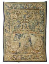 Flemish Hand-Woven Tapestry of a Royal Betrothal