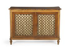 Victorian Fruitwood Cabinet