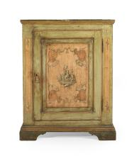 Continental Provincial Polychrome Cabinet