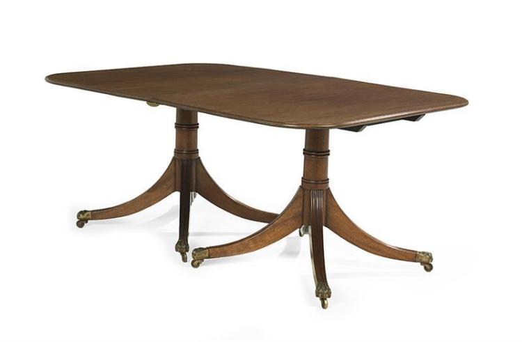 George III Style Mahogany Dining Table : H0122 L122050580 from www.invaluable.com size 750 x 491 jpeg 20kB