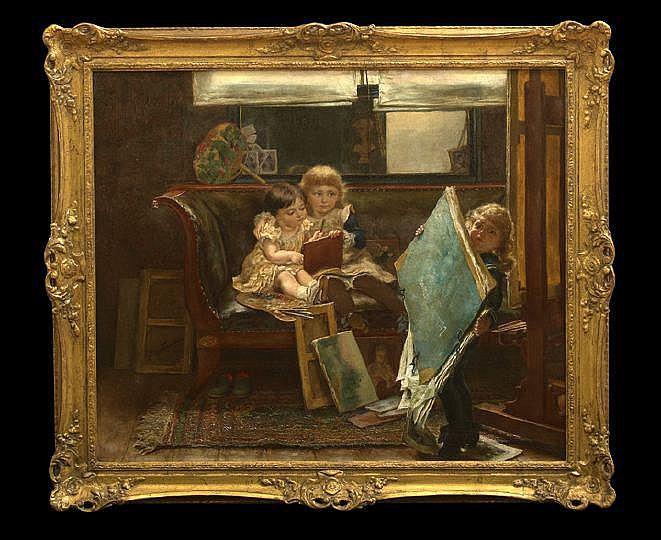Edgard Farasyn (Belgian, 1858-1938)