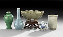 Five-Piece Group of Porcelain