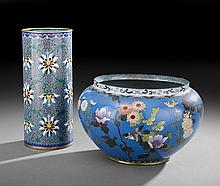 Two Pieces of Cloisonne