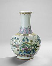 Chinese Bulbous Vase