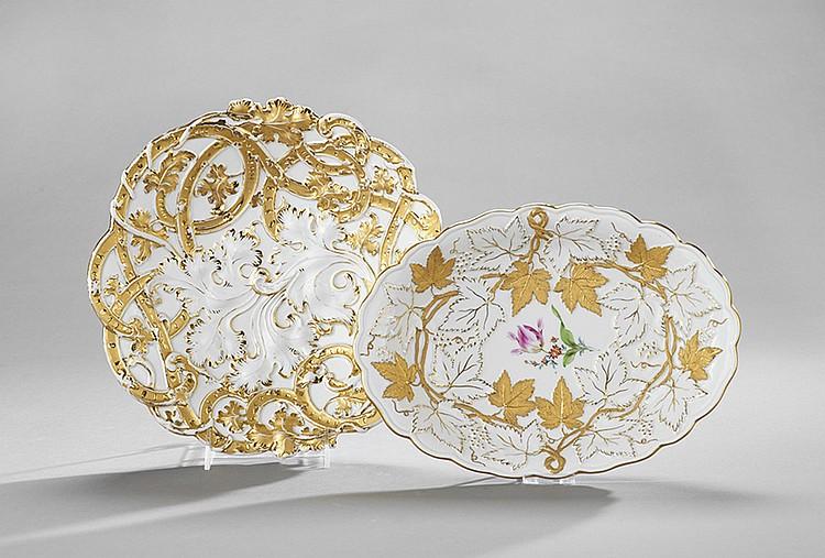 Two German Meissen Bowls