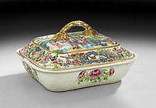 Chinese Export Tureen with Lid