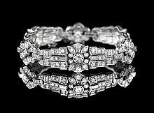 Stunning Platinum and Diamond Bracelet