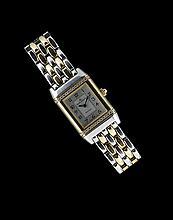 18 K. & Steel Jaeger-LeCoultre Reverso Wristwatch