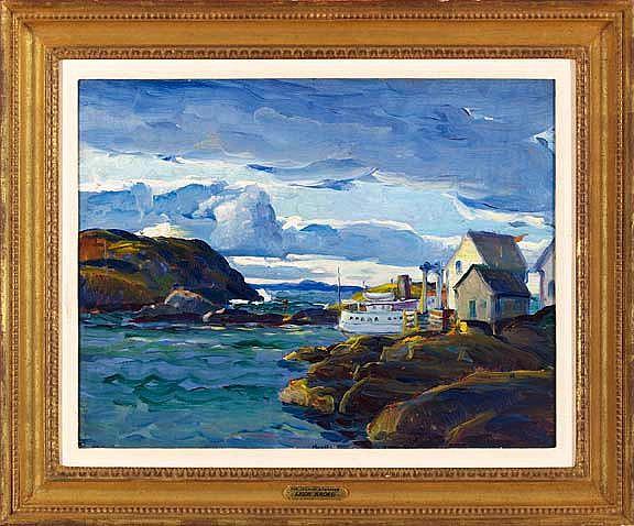 Leon Kroll (American/New York, 1884-1974)