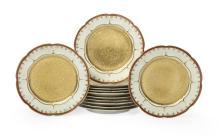 Set of Twelve Haviland Porcelain Dinner Plates