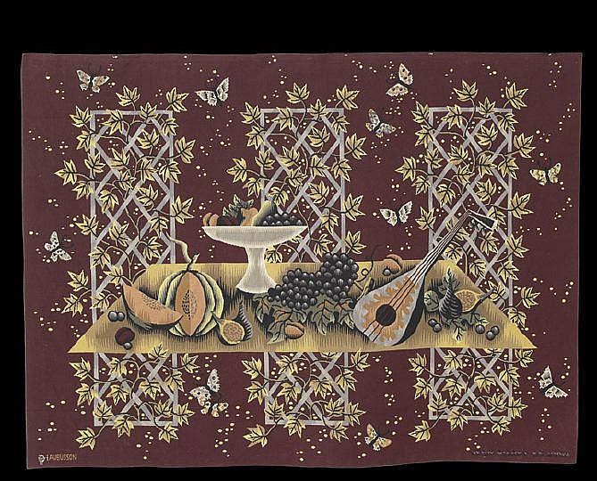 Aubusson Tapestry by J.-P. LeDoux (1902-1982)