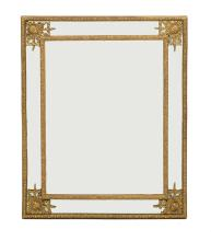 Unusual Giltwood Mirror of Baroque Inspiration