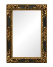 Spanish Baroque-Style Parcel-Gilt Mirror