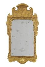 Early George II Giltwood Mirror