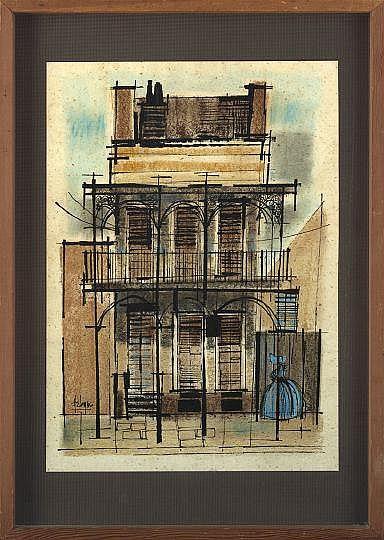 Robert Helmer (American/Louisiana, 1922-1990)