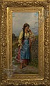 Emile Eisman-Semenowsky (Polish/French, 1857-1911), Emile  Eisman-Semonowsky, Click for value