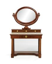 Charles X Mahogany Dressing Table