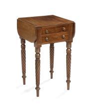 American Classical Mahogany Work Table