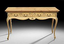 George III-Style Pine and Pickled Pine Desk