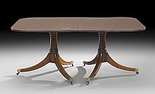 Regency-Style Mahogany Dining Table