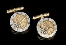 Gentleman's Gold Cufflinks