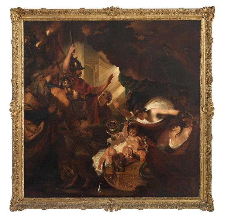 After Joshua Reynolds, (British, 1723-1792),