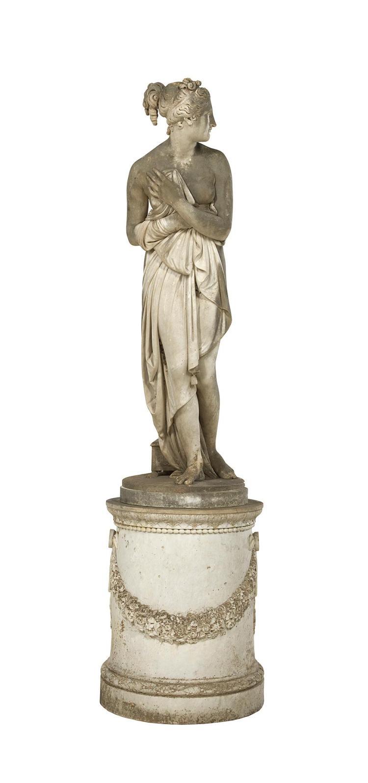 Carrara Marble Statue of Venus Italica