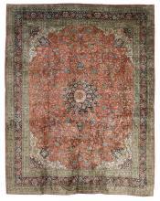 Silk Tabriz Carpet