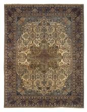 Semi-Antique Tabriz Carpet